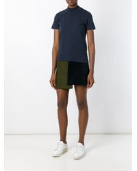 Jacquemus - Blue High Neck Top - Lyst