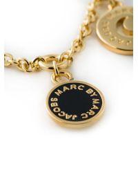 Marc By Marc Jacobs - Metallic Multi-Charm Bracelet - Lyst