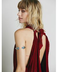 Free People | Purple New Romantics Womens Nr Indigo Ocean Top | Lyst