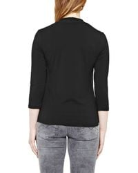 Great Plains | Black Primrose Stretch Sweethart Tee | Lyst