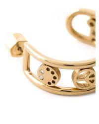 Marc By Marc Jacobs | Metallic Symbols Half-Hoop Earrings | Lyst