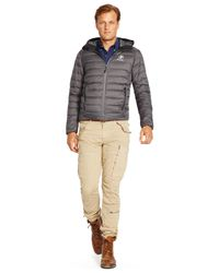 Polo Ralph Lauren | Gray Big And Tall Rlx Explorer Down Jacket for Men | Lyst