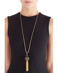 Kenneth Jay Lane | Metallic Gold-plated Statement Necklace - Gold | Lyst