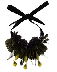 P.A.R.O.S.H.   Green 'ossyne' Necklace   Lyst