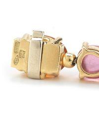 BVLGARI - Metallic Pre-Owned: Bvlgari 18K Yellow Gold Diamond And Multi Stone Bracelet From The Allegra Collection - Lyst