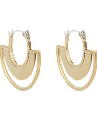 Pamela Love | Metallic Sunset Drop Earrings | Lyst