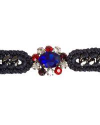 Venessa Arizaga | Blue Grey Valley Of The Dolls Bracelet | Lyst