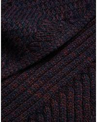 Jack & Jones | Blue Scarf In Twist Knit for Men | Lyst