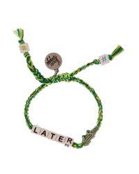 Venessa Arizaga - Green Later Gator Bracelet - Lyst