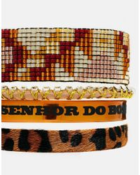 Hipanema | Brown Leopard Friendship Bracelet | Lyst