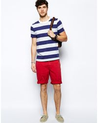 Jack wills Chino Shorts in Red for Men | Lyst