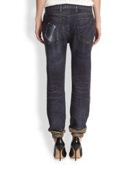 Rag & Bone - Blue Printed Pajama Jeans - Lyst