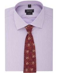 Richard James - Red Floral Brocade Tie for Men - Lyst