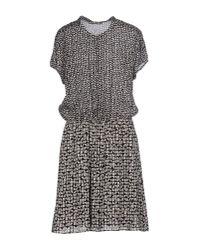 Liu Jo   Blue Short Dress   Lyst