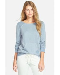 Rip Curl | Blue 'simply Surf' Crewneck Sweatshirt | Lyst