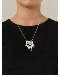 Kit Neale | Metallic 'Stacey' Necklace | Lyst