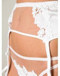 Fleur Of England   White Jasmine Suspender   Lyst