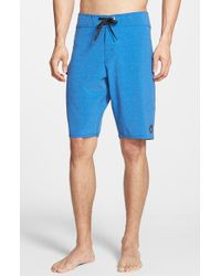 Volcom | Blue 'Static Mod' Board Shorts for Men | Lyst
