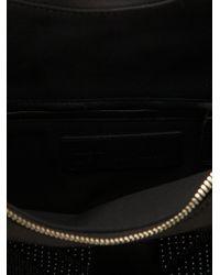 Alexander McQueen - Black Beaded 'de Manta' Clutch - Lyst