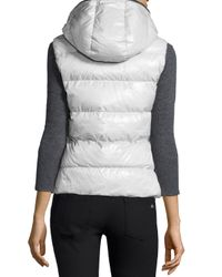 Duvetica | White Febe Quilted Vest | Lyst