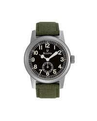 Bulova | Men'S Green Strap Watch 96A102 for Men | Lyst