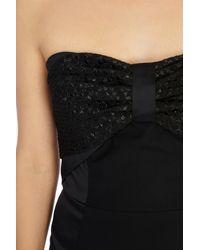Coast - Black Kimly Bow Cocktail Dress - Lyst