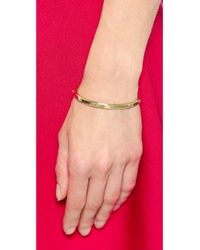 Michael Kors | Metallic Astor Open Cuff Bracelet - Gold/Silver | Lyst