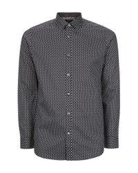 Ted Baker - Black Dyamond Diamond Print Shirt for Men - Lyst