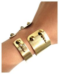 April Soderstrom Jewelry - Metallic Cuzco Cuff - Gold - Lyst