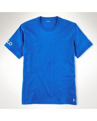 Polo Ralph Lauren - Blue Short-sleeved Sleep Shirt for Men - Lyst