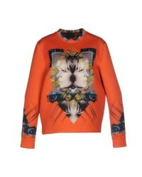 John Richmond | Orange Sweatshirt | Lyst