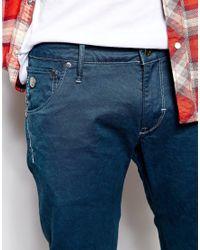G-Star RAW - Blue G Star Jeans Arc 3d Slim Fit Color Denim for Men - Lyst