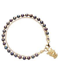 Astley Clarke - Blue Pearls Of Wisdom Bracelet - Lyst