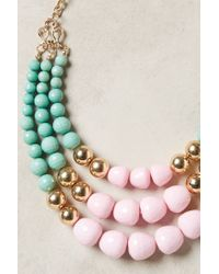 Anthropologie | Green Currant Layered Necklace | Lyst