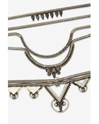 Nasty Gal | Metallic Cobra Layered Necklace | Lyst
