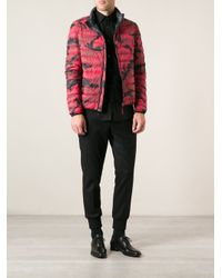 Valentino - Red Reversible Jacket for Men - Lyst