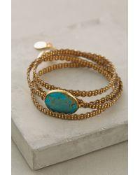 Gas Bijoux | Blue Geminiano Wrap Bracelet | Lyst