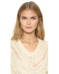 Ela Rae | Metallic Libi Necklace | Lyst