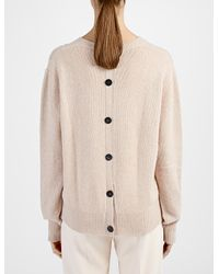 JOSEPH | Natural Spring Cashmere Sweater | Lyst
