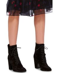 Laurence Dacade - Black Leather Ideal Lace Up Ankle Boots - Lyst