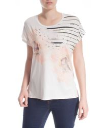 Elena Miro - Multicolor Plus Size T-shirt With Print And Embroidery - Lyst