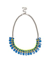 River Island | Metallic Silver Tone Shell Big Necklace | Lyst