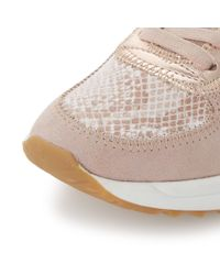 Dune | Pink Eddee Tweed Mix Trainers | Lyst