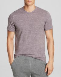 Alternative Apparel - Purple Crewneck Tee for Men - Lyst