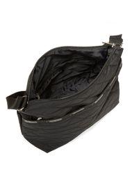 LeSportsac | Black Small Cleo Crossbody Bag | Lyst