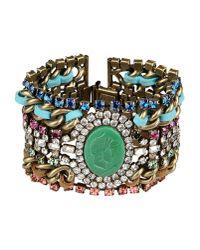 DANNIJO - Green Bracelet - Lyst