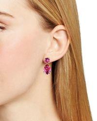kate spade new york - Pink Fancy That Drop Earrings - Lyst