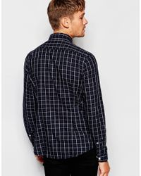 Esprit | Gray Tonal Check Shirt for Men | Lyst