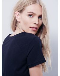 Free People | Black We The Free Womens We The Free Bridget Tee | Lyst