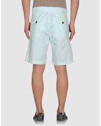 Maison Kitsuné - Blue Shorts for Men - Lyst